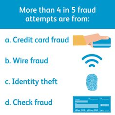"""The correct answer is """"d. check fraud."""""""