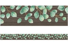 """Use this leafy wood grain–inspired border to liven up your classroom! It makes it easy to create fresh looks for bulletin boards, windows, walls and class projects! Pack includes 12 border strips; each measures approximately 3"""" x 35"""", for a total length of 35'. Classroom Borders, Bulletin Board Borders, Bulletin Boards, Montessori Classroom Layout, Classroom Themes, Teacher Magazine, Lakeshore Learning, Class Projects, Wood Grain"""