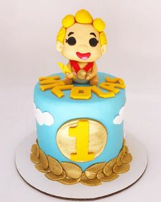One Year Birthday Cake, Cake Flour, Baking Tips, Custom Cakes, Cake Ideas, Baking Soda, Brunch, Birthdays, Pastries