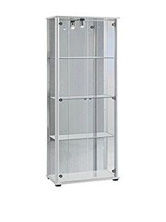 Modern Loft Vetrina Cristal A3 Bianco
