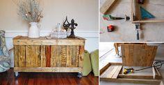 Cómo construir un baúl con madera de palets