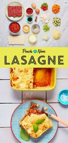 Lasagne is one of the most loved dishes out there, and this version is a perfect slimming recipe for people counting calories or following a specific diet plan. Healthy Cooking, Cooking Recipes, Mince Recipes, Eating Healthy, Healthy Food, Low Calorie Recipes, Healthy Recipes, Pinch Of Nom, Lasagne Recipes