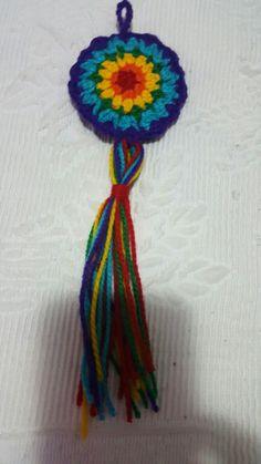 Crochet Necklace, Mandala, Jewelry, Beads, Jewlery, Crochet Collar, Jewels, Jewerly, Jewelery