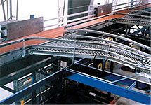 Kuecker Conveyor Systems - Automation Arm Sorters