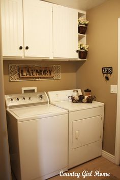 I want this laundry room.
