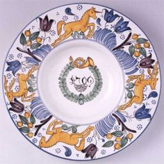 Haban Ceramics Delft, Ceramic Pottery, Decorative Plates, Tableware, Home Decor, Hungary, Bowls, Plate, Dinnerware