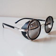 1b851da686 Round Sunglasses  Silver Frames