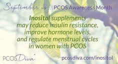Research has shown inositol supplements may reduce insulin resistance, improve… Polycystic Ovary Syndrome, Pcos Vitamins, Pcos Awareness Month, Myo Inositol, Adrenal Health, Pcos Symptoms, Adrenal Support