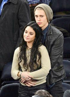 Austin Butler and Vanessa Hudgins