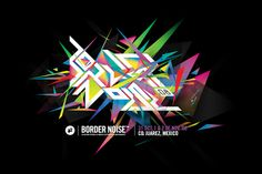 BorderNoise 2008 by Face. , via Behance