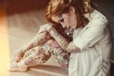 Tattoo Lust: Tattooed Dames XVIII    Fonda LaShay // Design → more on fondalashay.com/blog