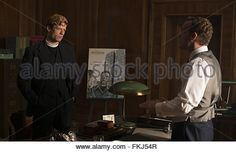 Grantchester Serie TV  Saison 1 2014 Episode 6 Les ombres de la guerre James Norton Robson Green Morven Christie - Stock Photo