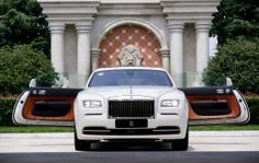 Rolls Wraith - the only way you can step out of one is with a lot of style...