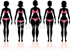 Women's Body Types Group 3 by Girl_illa
