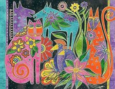 New Things To Try, Laurel Burch, American Artists, Artsy Fartsy, Art Projects, Doodles, Diy Crafts, Drawings, Birch
