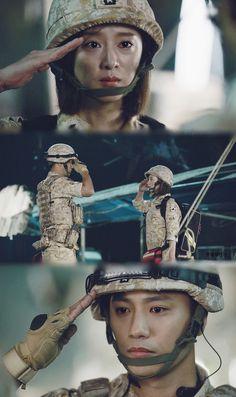 Kites-Korean Dramas-[KBS 2016] Hậu Duệ Của Mặt Trời: Song Joong Ki,Song Hye Kyo,Jin Goo,Kim Ji Won,SHINee Onew ~ Vietsub E06 SD HD + Online-Trang 235 - We Fly