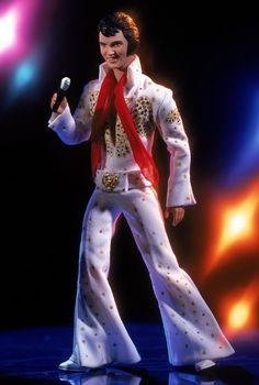 Elvis Presley® in the Eagle Jumpsuit | Barbie Collector
