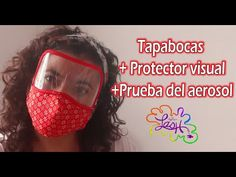 Tapabocas+Protector Visual+Prueba de aerosol+moldes incluidos|Taller Lash - YouTube Diy Hair Mask, Diy Mask, Masque Anti Pollution, Sewing Tutorials, Sewing Projects, Diy Rocket, Learn To Sew, How To Make, Crochet Mask
