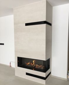 Kominek nowoczesny - model n135 - Kominki GP Modern Fireplace, Fireplaces, Interior Ideas, Apartments, Homes, Living Room, Tv, Home Decor, Cozy Nook