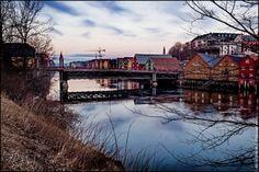 Trondheim Nidelva, gamle bybro by Aziz Nasuti on 500px