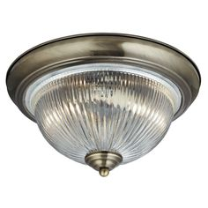 American diner bathroom ceiling lamp in antique brass finish - in-antique-brass-finish- bathroom lighting. Glass Ceiling Lights, Glass Ceiling, Glass Diffuser, Glass Shades, Light Fittings, Low Ceiling Lighting, Traditional Bathroom Lighting, Bathroom Ceiling Light, Ceiling Lamp