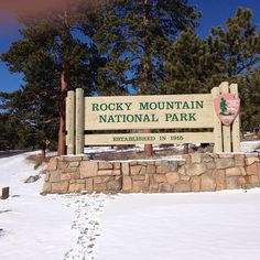June 2014 Rocky Mountain National Park in Estes Park, CO was not far from our camp at Sruce Lake in Estes Park