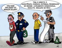 Os direitos de um prisioneiro...