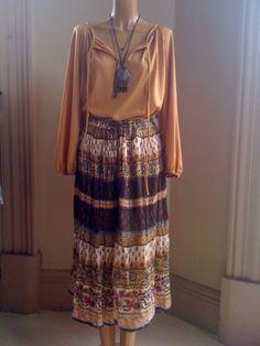 Pretty boho skirt