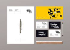 Turnkey Dwellings Branding on Behance
