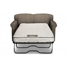 Simmons® Upholstery Stirling II Chair And A Half W/Twin Sleeper Beauty  Sleep Mattress