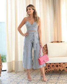 37+ Outfits con Pantalón Palazzo Corto para lucir Elegante (2019) Date Outfits, Summer Outfits, Girl Outfits, Fashion Outfits, Fashion Tips, Boho Fashion, Autumn Fashion, Fashion Looks, Womens Fashion