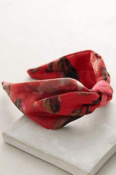 Scarlet Portrait Turban Headband - #anthroregistry