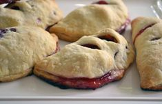 Jann Arden hand pies. These are good and easy- I used puff pastry instead of making my own. This is a great way to use up ripe fruit!