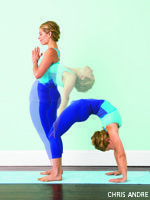 With curiosity and persistence, learn to drop back into Wheel from Mountain Pose.