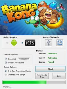 Download Banana Kong Hack Tool Free Cheats No Survey