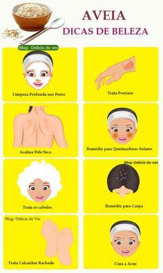 Top 10 Dicas de beleza usando aveia