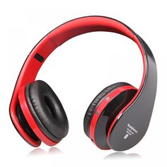 Wholesale High Fidelity Surround Sound Noise Cancelling Wireless Stereo Bluetooth Headphone Headset With Mic, Support TF Card, FM Radio Online From China Workout Headphones, Bluetooth Headphones, Beats Headphones, Noise Cancelling Headset, Surround Sound, Earmuffs, Hd 1080p