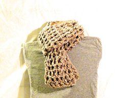 Double crochet, 8 stitch scarf