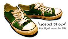 Gospel Shoes Bible Object Lesson