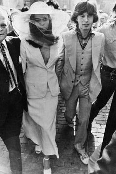 Bodas famosas: Bianca y Mick Jagger , 1971 en Saint Tropez