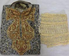 Burgundy  Silk  Boys Kurta salwar kameez sherwani 2 pc  Free shawl  all sizes