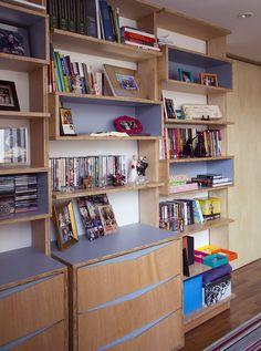 APARTAMENTO ROOSEVELT 2 - sabará arquitetura e urbanismo / móvel para escritório / gaveteiro / estante / compensado naval