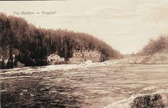 Østfold fylke Trøgstad kommune Fra Mørkfos utg H.A. Rakstad brukt 1946