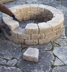 A quick and easy DIY firepit by luann