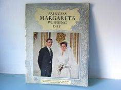 Your place to buy and sell all things handmade Princess Margaret Wedding, Wedding Ceremony, Wedding Day, Cottage Chic, Queen Elizabeth, Bridal Accessories, Black And White, Magpie, Booklet