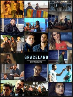 1000+ images about graceland on Pinterest | Daniel sunjata ... Graceland Tv Show Season 2