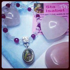 #Pulsera #SantaIsabel #ArtAbalori coleccion #Virgencitas #gifts #moda #joyas