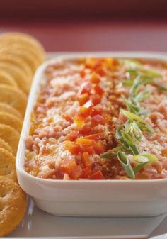 Savory Three-Cheese Spread – We admit, we're kind of smitten with cheese. So it's only natural that 3 cheeses are the base for our super-quick spread. The only challenge? Deciding which cheese is tastiest.