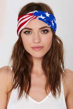 American flag turband ==