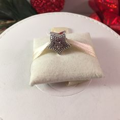 Pandora Wishing Star Gift Worthy Authentic and in like new condition. Stunning and sparkly. Retails for $80 plus tax. Pandora Jewelry Bracelets